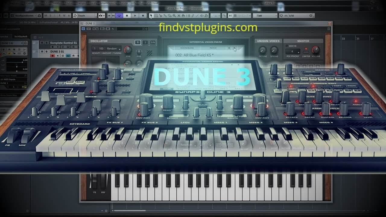 Synapse Audio DUNE Full Crack Free Download
